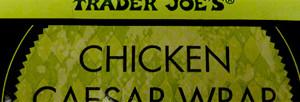 Trader Joe's Chicken Caesar Wrap