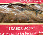 Trader Joe's Cranberry Walnut Bread Loaf