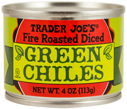 Trader Joe's Fire Roasted Diced Green Chiles