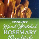Trader Joe's Hand Stretched Rosemary Breadsticks
