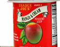 Trader Joe's Mango & Cream Yogurt