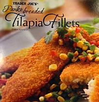 Trader Joe's Panko Breaded Tilapia Fillets