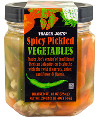 Trader Joe's Spicy Pickled Vegetables