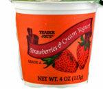 Trader Joe's Strawberries & Cream Yogurt