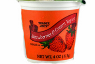Trader Joe's Strawberries & Cream Yogurt