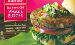 Trader Joe's Thai Sweet Chili Veggie Burger