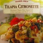 Trader Joe's Tilapia Citronette