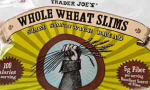 Trader Joe's Whole Wheat Slims