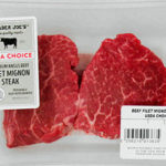 Trader Joe's USDA Choice Premium Angus Beef Filet Mignon Steak