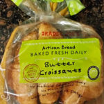 Trader Joe's Artisan Bread Baked Fresh Daily Butter Croissants