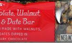 Trader Joe's Dark Chocolate, Walnut, Peanut, Fig & Date Bar