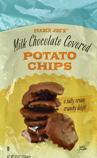 Trader Joe's Milk Chocolate Covered Potato Chips
