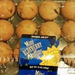 Trader Joe's Mini Blueberry Muffins