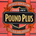 Trader Joe's 72% Dark Chocolate Pound Plus Bar