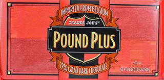 Trader Joe's 72% Dark Chocolate Pound Plus Bar