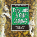 Trader Joe's Thai Lime & Chili Cashews