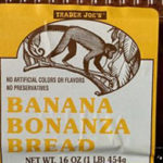 Trader Joe's Banana Bonanza Bread