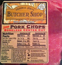 Trader Joe's Butcher Shop Pork Chops