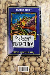 Trader Joe's Dry Roasted & Salted Pistachios