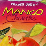 Trader Joe's Frozen Mango Chunks