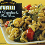 Trader Joe's Fusilli with Vegetables & Basil Pesto