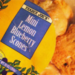 Trader Joe's Mini Lemon Blueberry Scones
