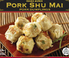 Trader Joe's Pork Shu Mai Dumplings