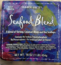 Trader Joe's Seafood Blend