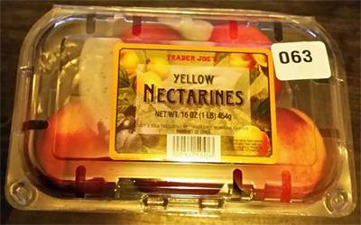 Trader Joe's Yellow Nectarines