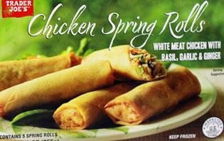 Trader Joe's Chicken Spring Rolls