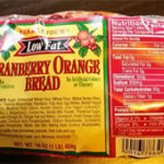 Trader Joe's Cranberry Orange Bread