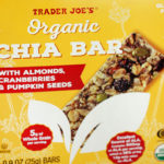 Trader Joe's Organic Chia Bar with Almonds, Cranberries, and Pumpkin Seeds