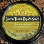 Trader Joe's Green Tahini Dip and Sauce