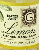 Trader Joe's Lemon Kitchen Hand Soap