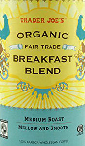 Trader Joe's Organic Fair Trade Breakfast Blend Coffee