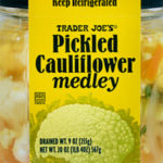 Trader Joe's Pickled Cauliflower Medley