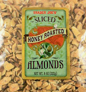 Trader Joe's Sliced Honey Roasted Almonds