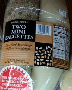 Trader Joe's Two Mini Baguettes