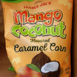 Trader Joe's Mango Coconut Flavored Caramel Corn