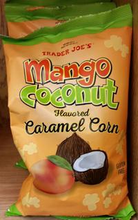 Trader Joe's Mango Coconut Flavored Caramel Corn