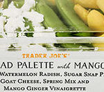 Trader Joe's Salad Palette with Mango
