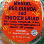 Trader Joe's Mango, Red Quinoa and Chicken Salad