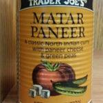 Trader Joe's Matar Paneer