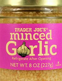 Trader Joe's Minced Garlic