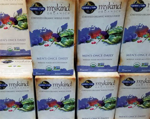 Garden of Life mykind Organics Men's Once Daily Multivitamin