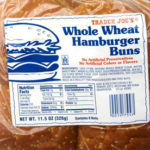Trader Joe's Whole Wheat Hamburger Buns