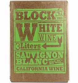 Trader Joe's Block White Wine Sauvignon Blanc