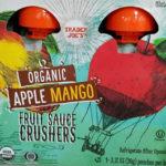 Trader Joe's Organic Apple Mango Fruit Sauce Crushers