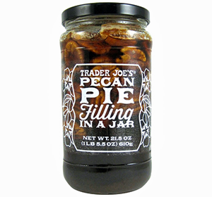 Trader Joe's Pecan Pie Filling in a Jar