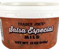 Trader Joe's Salsa Especial Mild